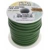 Flat Leather 5X2mm (10m Spool) Green